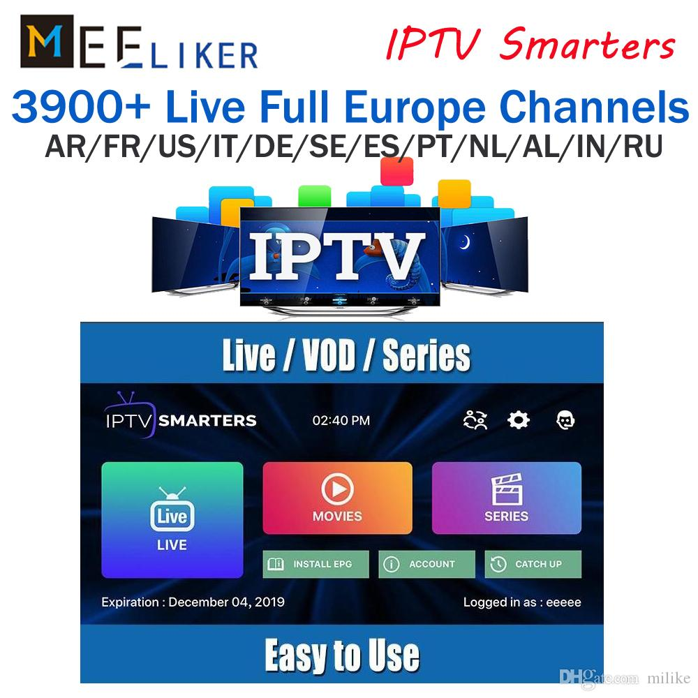 World Iptv Subscription For France English Italy Germany With 30 Countries  4000 Live Abonnement Iptv Support Enigma2 M3U Mag Box Smart TV