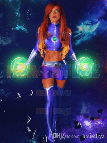 Necessary teen titans starfire costume