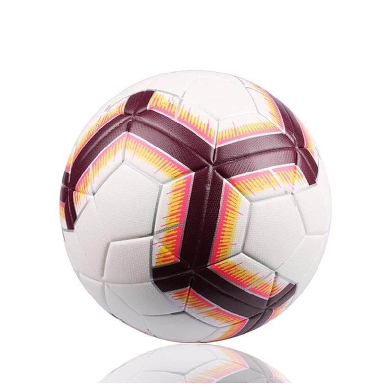0b9bb46c3f087 Compre 2018 Premier Bola De Futebol Oficial Da Liga De Futebol Ao Ar Livre  PU Bolas De Treinamento De Partida Presente Personalizado Futbol Topu De ...