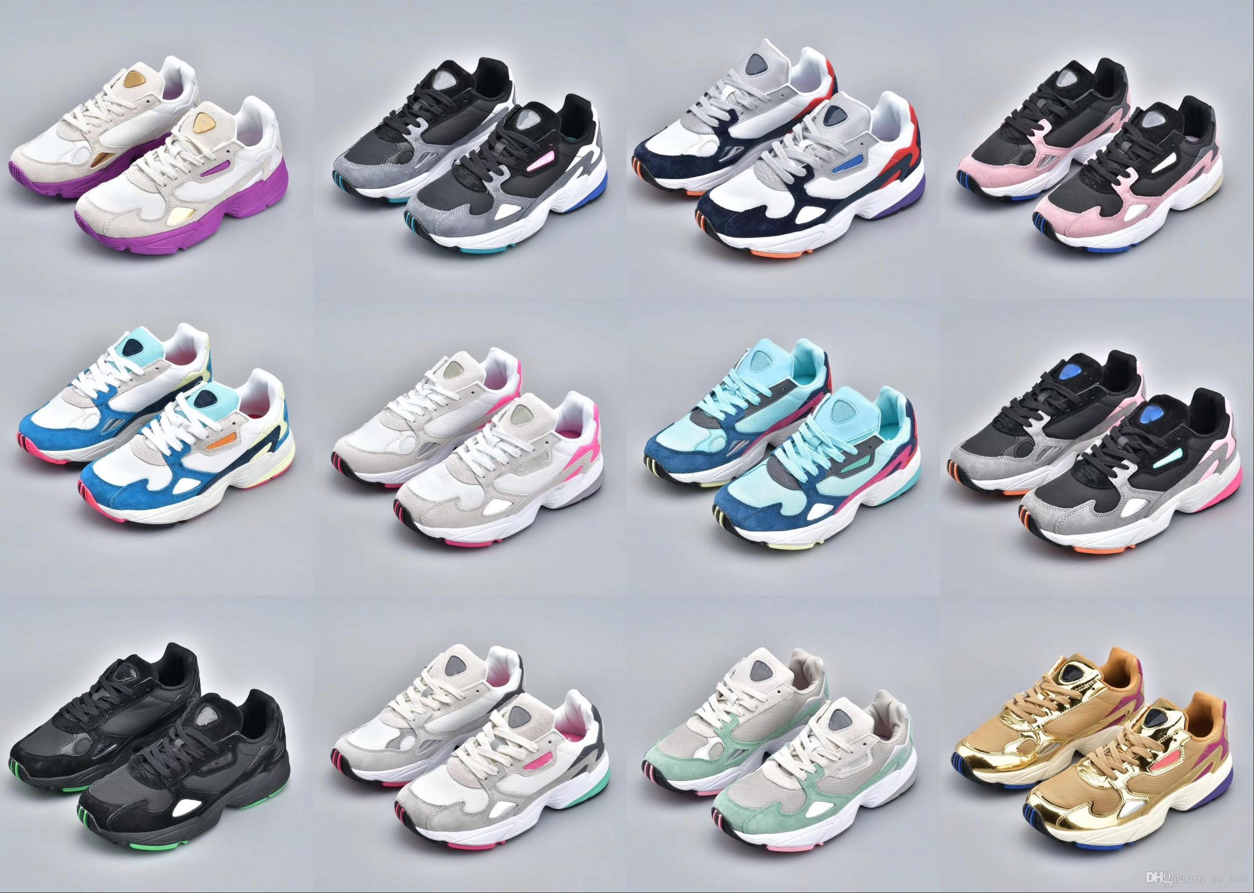 check out d474c 36323 Adidas Falcon W Running Shoes 2019 NUEVOS Zapatos Para Correr De Alta  Calidad FALCON W Para Hombres Y Mujeres, Zapatos Deportivos De Moda Tamaño  36 45 Por ...