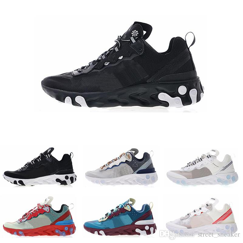 37fdfab1e507 UNDERCOVER X Nike Upcoming React Element 87 Epic React Element 87 55  Undercover Men Running Shoes For Women Designer Sneakers Sports Mens  Trainer 55s 88s ...