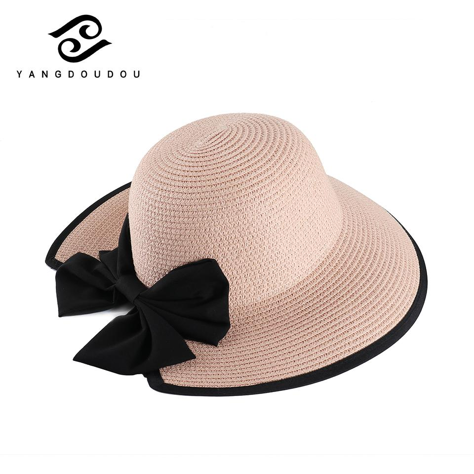 1ee670f8 Yangdoudou 2018 Trend Sun Hat Female Male Summer Beach Hat Large ...