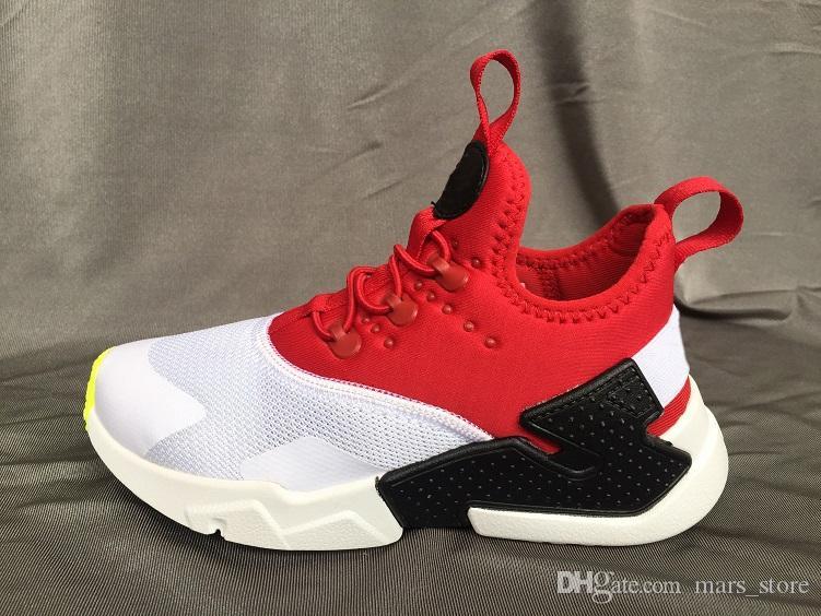 new product 9cfaa 2da22 Acheter Nike Air Huarache Ultra Chaussures De Course Big Kids Garçons Et  Filles Noir Blanc Air Huaraches De $53.23 Du Mars_store | DHgate.Com