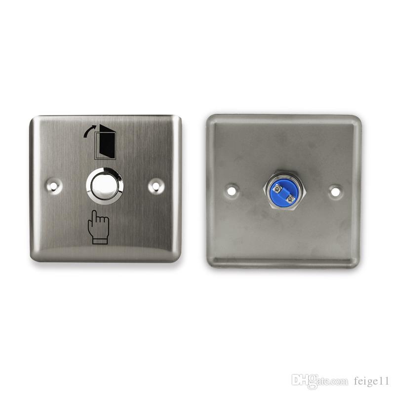 Lpsecurity Door Button With Keys Metal Exit Switch Button Door Release For Gate Opener Electric Lock Access Control System 100% High Quality Materials Security & Protection