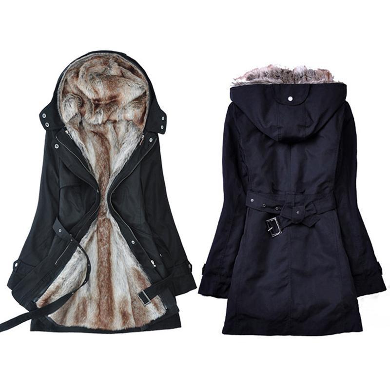 New Parkas Female Women Winter Coat Thickening Cotton Winter Jacket Women's Outerwear Parkas for Women
