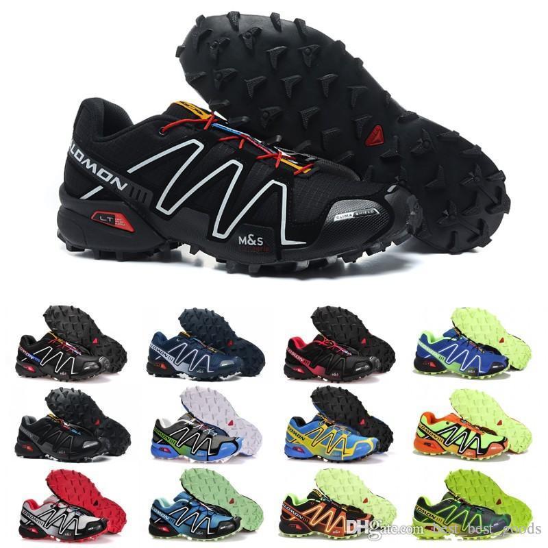 pas cher pour réduction 62048 f3443 2019 Salomon Speed Cross 3 CS Running Shoes Men Women ...