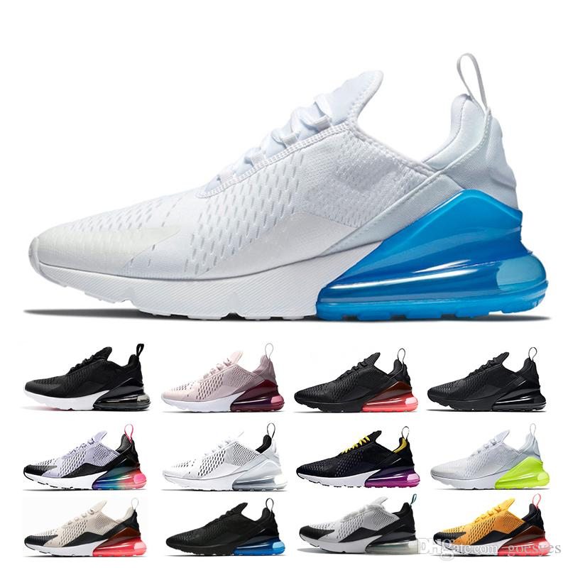 innovative design 9c185 9f9e1 Nike Air Max Maxes Barato 270 Zapatillas Betrue Hyper Grape Blanco Voltio  Té Baya Hombres Mujeres Triple Negro Blanco Foto Azul Punch Caliente 270s  Deportes ...