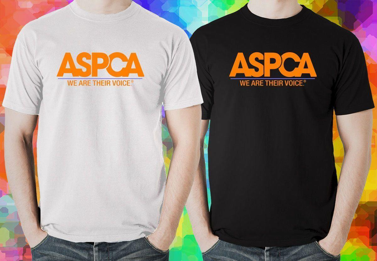 685b76c6b0 New Aspca Logo Men S Black And White T Shirt Usa Size S M L Xl 2Xl 3Xl Af1  Funky T Shirts Cool T Shirt From Belief85
