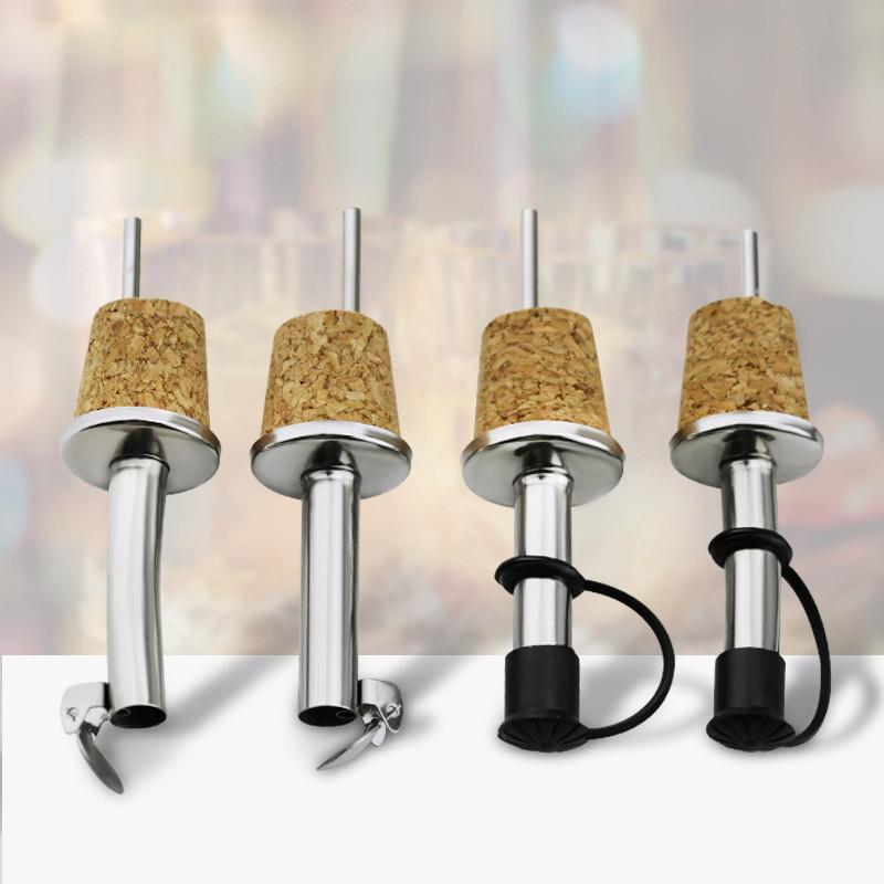 Cork Madeira Red Wine Pourer Oil Champagne Beer Bottle Stopper retas Birthday Party Supplies casamento do Natal Curva Wine Pourer
