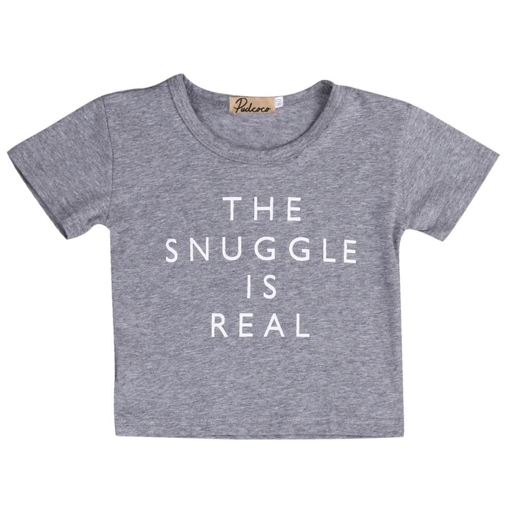 High Quality Newborn Kids Summer Clothes Baby Boy Girl Cotton Short SleeveT Shirts Outfit Tops Tee