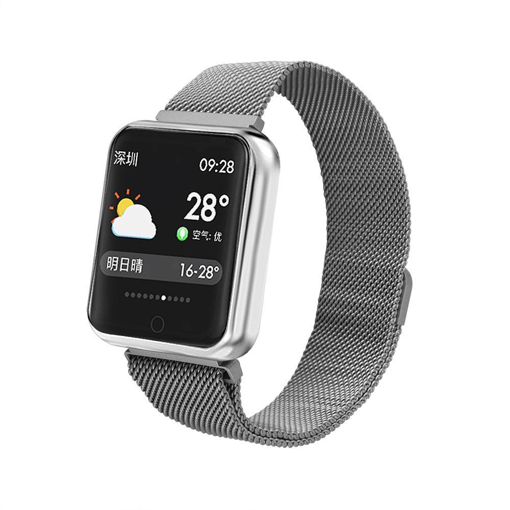 Apple Aktivität Für Watch Pulsuhr Sport Smart Fitness Blutdruck Tracker P68 Ios Android Ip68 Iphone 6 7 Armband H2E9IYWD