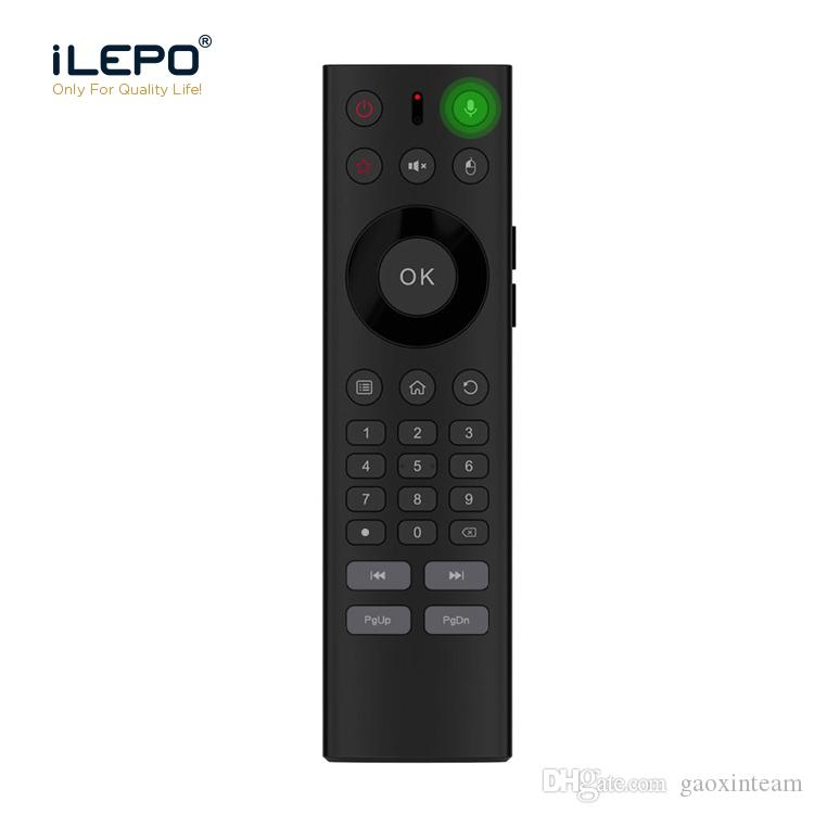 673a6ebce97 Voice Remote Control 2.4G AirMouse For Android TV System Box Keyboard With  Infrared Remote Control Learning Support Xiaomi ,NVIDIA SHIELD TV Remotely  ...
