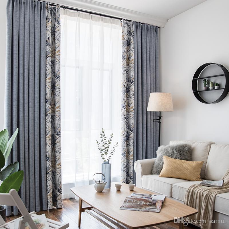 Acheter Rideau Fini Simple Moderne Chambre Salon Frais Abat Jour ...