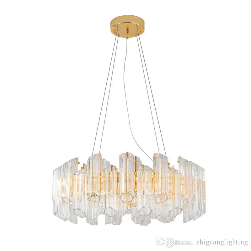 Designer De Lumière Postmodern Suspension Nordic Led Nordique Ronde Design Luxe Atmosphère Lampe Bague Pendentif 6ybfY7mvIg