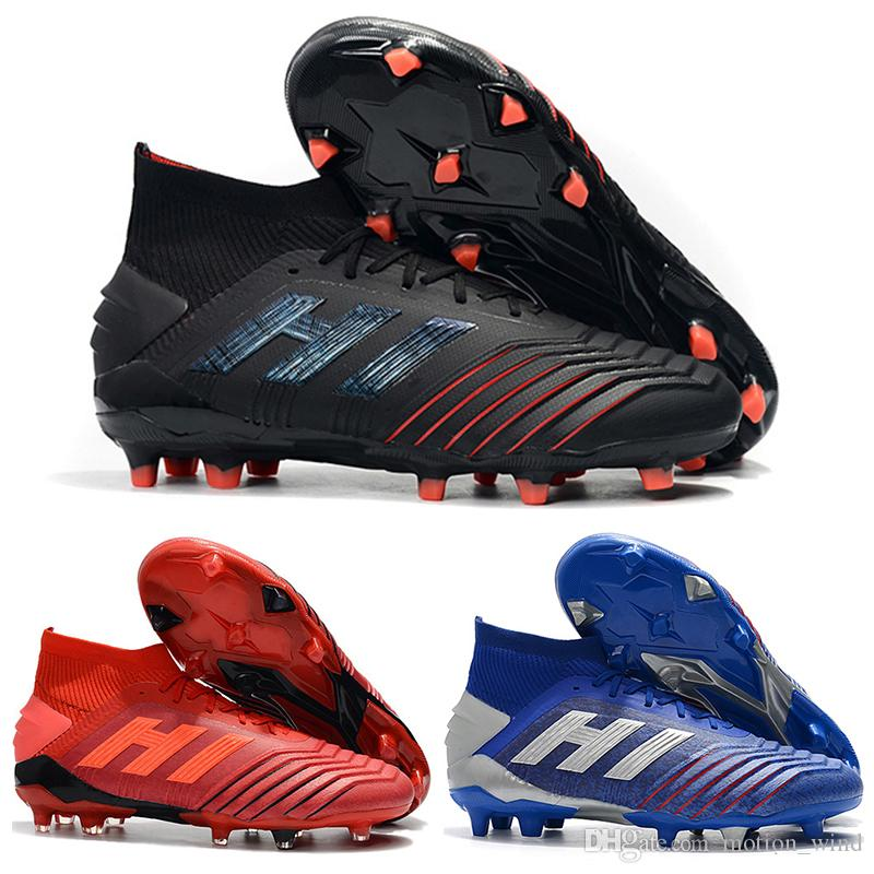 4bdfccae8 2019 New Mens High Ankle Football Boots Archetic Predator 19.1 Firm ...