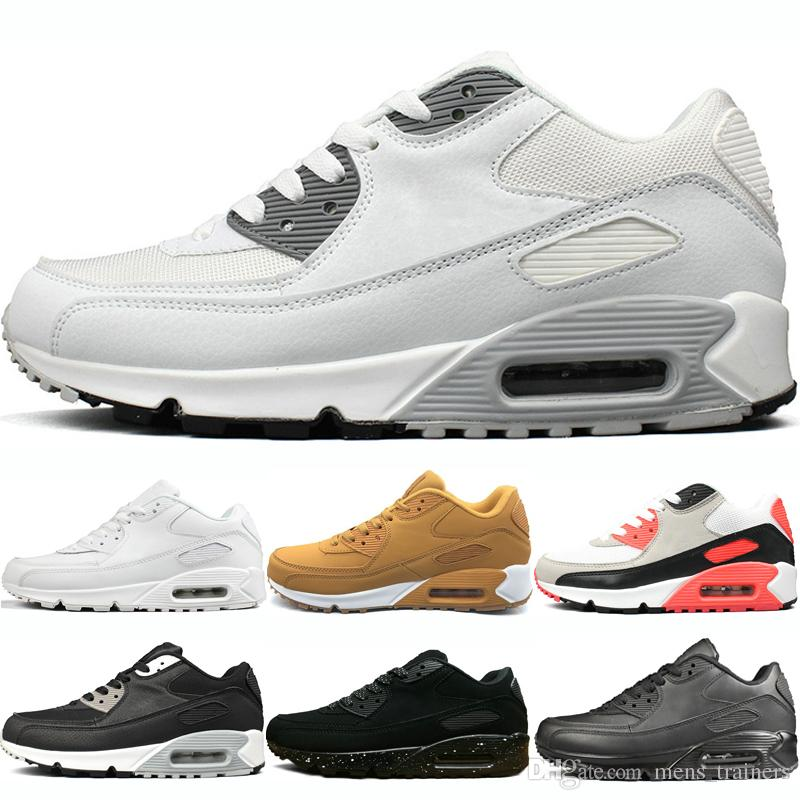 Athletic Schwarze Gelb Nike Frau Sport Trainer Air Schuhe