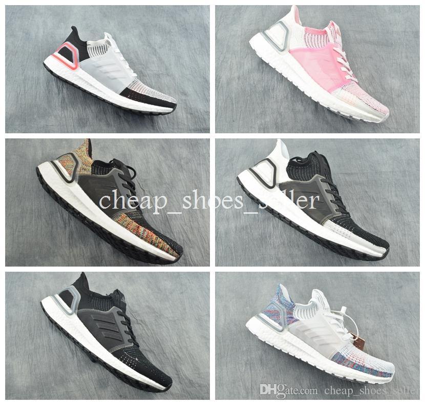 664165a80b68b 2019 2019 Ultraboosts 19 Men Women Running Shoes Ultraboosts 5.0 ...