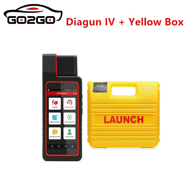 2018 Orignal Launch X431 Diagun 4 Full System Diagnotist Tool X431 Diagun IV Code Scanner DHL Free Shipping Free Update Online