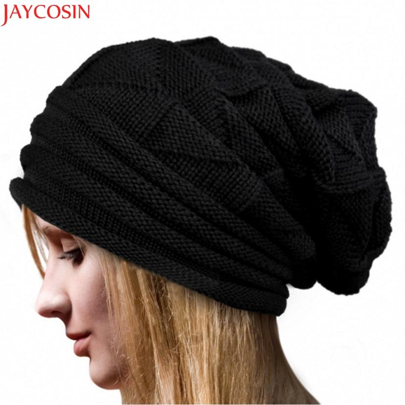 ddf57a71 Jaycosin Hat Female Set Women Winter Fluff Crochet Hat Wool Knit Beanie  Warm Caps Balaclava Winter C114 Skullies & Beanies Cheap Skullies & Beanies  Jaycosin ...