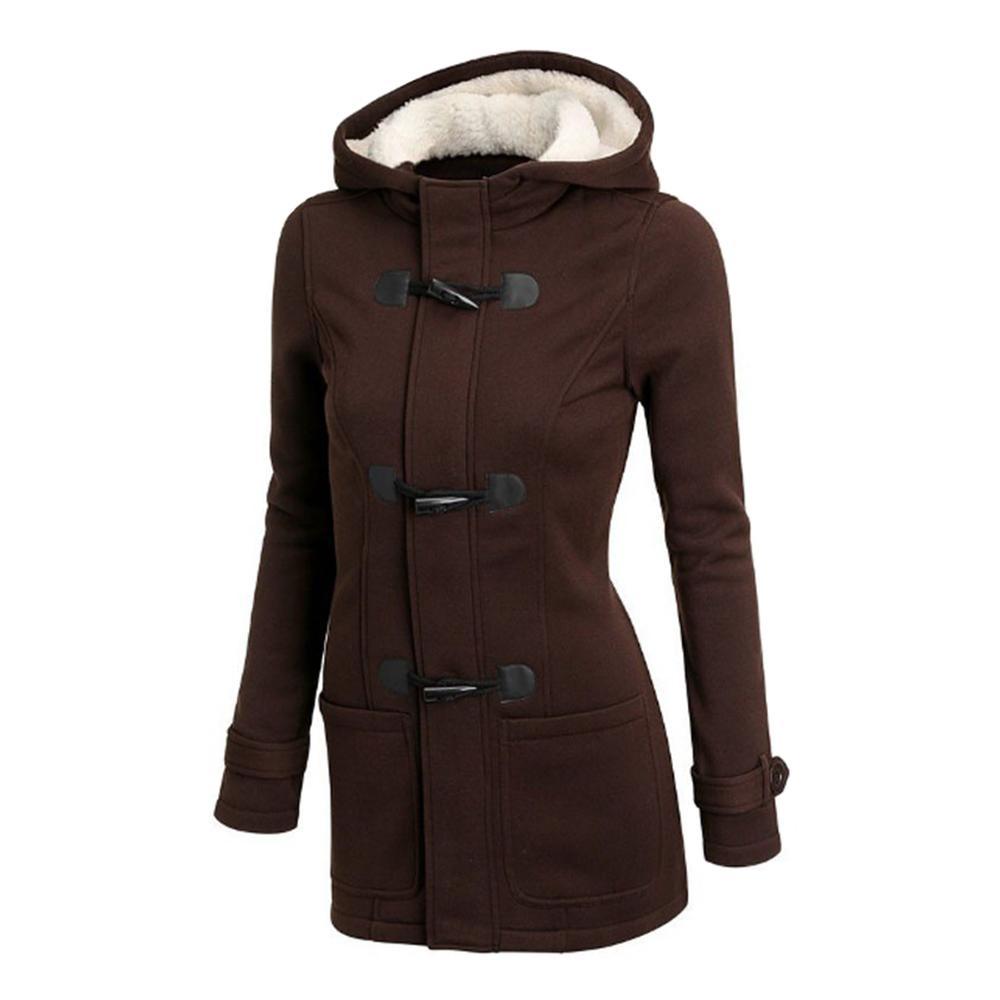 Frauen Mantel Mit Kapuze Einreiher Oberbekleidung Weibliche Frauen Jacken Tampons Mäntel Große Größe S 6xl Damen Tops