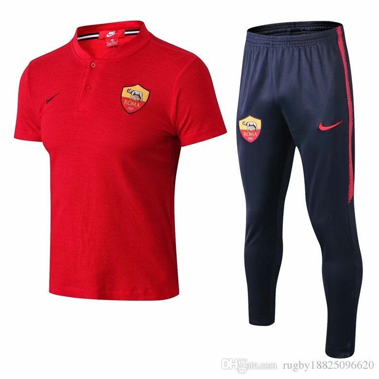online store 22170 8de99 A+++ 18 19 Dortmund shrot sleeve polo tracksuit kit Man united football  polo shirt Rome training suit Madrid jerseys maillot de foot