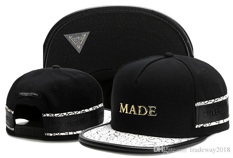 7ce101c2265 2019 Cayler And Sons Son Snapback Caps Hip Hop Cap Baseball Hat Hats For Men  Women Bones Snapbacks Bone Gorras Millinery Richardson Hats From  Tradeway2018