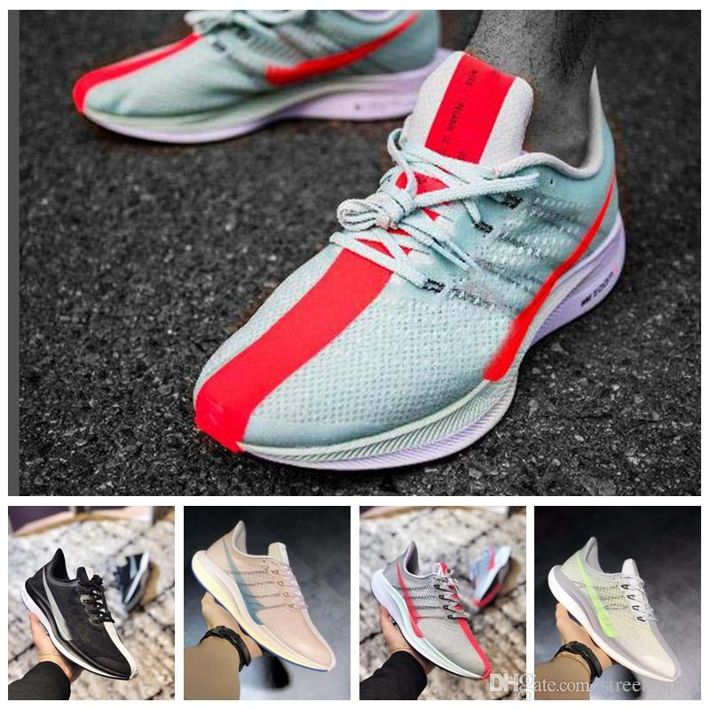 b1f0ff101b9 2019 Air Trainers Zoom Pegasus Turbo 2.0 Barely Grey Hot Punch Black White  Running Shoes Mens Women React ZoomX Vaporfly Pegasus 35