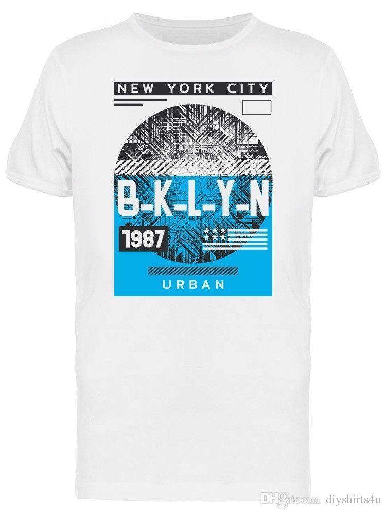 Compre Urban Brooklyn Grunge Camiseta Para Hombre Camiseta Hombre Hombre Camisa  Masculina Personalizada Manga Corta Tallas Grandes Pareja Camiseta A  12.94  ... 90b6903cd31