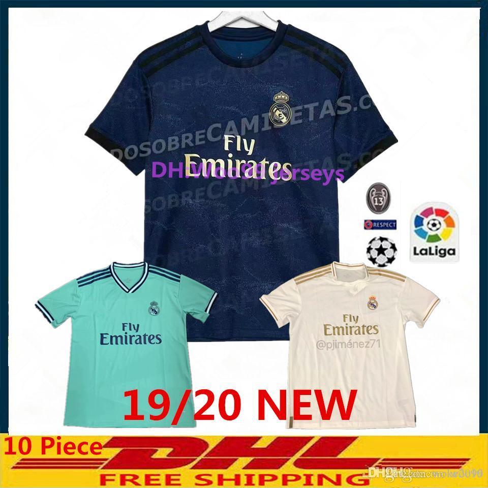 pretty nice 6340a 20174 New 2019 Real madrid ASENSIO BALE ISCO Home away 3rd soccer jersey RAMOS  BENZEMA shirt 2020 Camiseta real madrid football kit jerseys Man