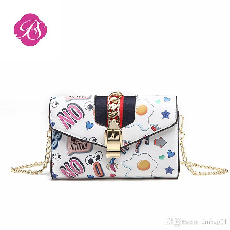 11365937a31a Pink Sugao Designer Luxury Handbags Purses For Women Designer Handbag  Cartoon Cute Shoulder Bag Leather Crossbody Bag With Big Eye Chain Bag  Black Handbag ...