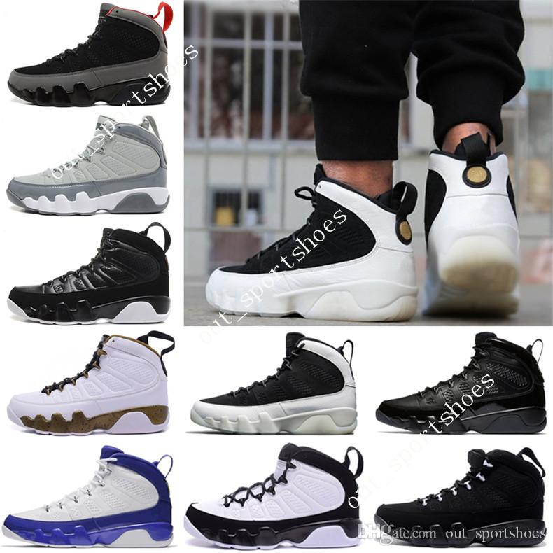 7c8c3821aca 2019 Cheap NEW 9 Basketball Shoes Men White Space Jam Anthracite ...