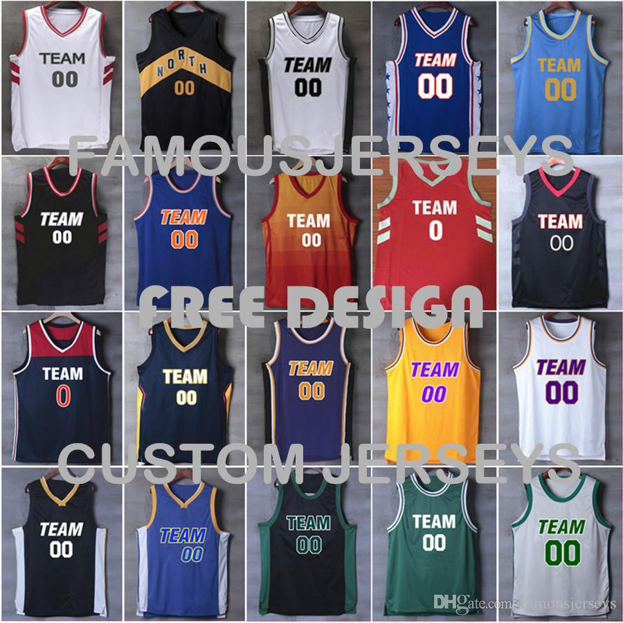 more photos 98082 4ff4d All stitched A basketball jerseys custom men s player embroidered premier  jersey classic game jerseys free design jersey XXS-6XL