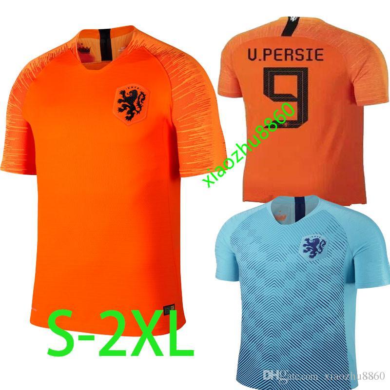 Nederland Camisa De Futebol Lar Laranja HOLLAND ROBBEN SNEIJDER V. Países  Baixos JERSEY 18 19 Thai Qualidade Camisas De Futebol Holandês De  Xiaozhu8860 51f64dcbf273a