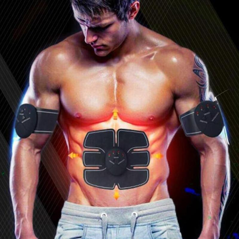 22db5fc1b0 Wireless Muscle Stimulator Smart Fitness Abdominal Training Device Electric Weight  Loss Stickers Body Slimming Belt Unisex Online with  19.59 Piece on ...