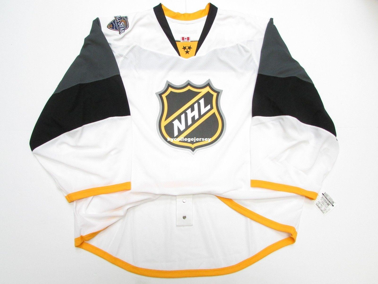 2019 Cheap Wholesale Custom 2016 NHL ALL STAR GAME WHITE EDGE JERSEY GOALIE  CUT 60 Mens Stitched Personalized Hockey Jerseys From Hycollegejersey e1e83b399