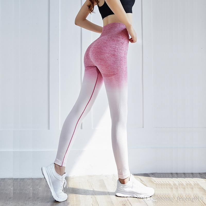 65b8f2153 Tights Woman Sports Wear For Gym leggings sport women fitness Ombre  Seamless Leggings Sportswear Women's High Waist Yoga Pants #590187