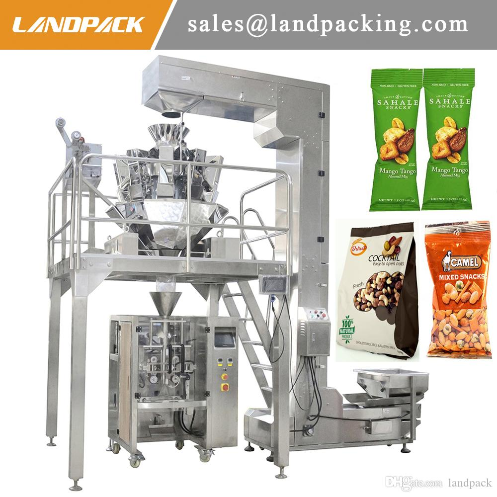 1 Kg Nuts Packing Machine Cashew Vertical Form Fill Seal Machine Price Precision Weighing