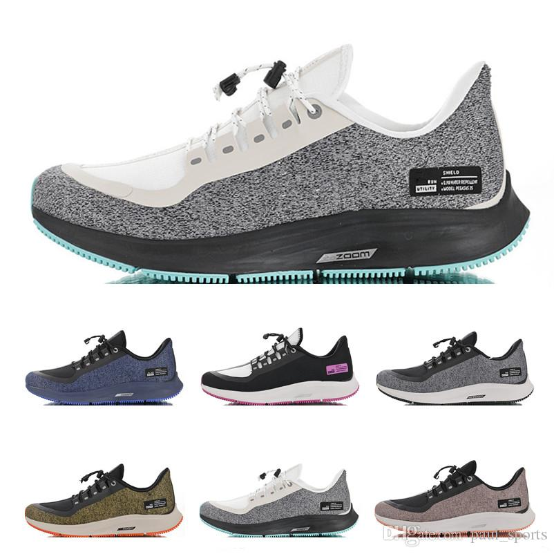 info for 313e2 fa11b Acheter Zoom Pegasus 35 Bouclier Vert Oreo Turbo Runing Chaussures Vert  Marathon Sports Sneakers Pour Top Qualité 35 S Formateurs Hommes Femmes EUR  36 45 De ...