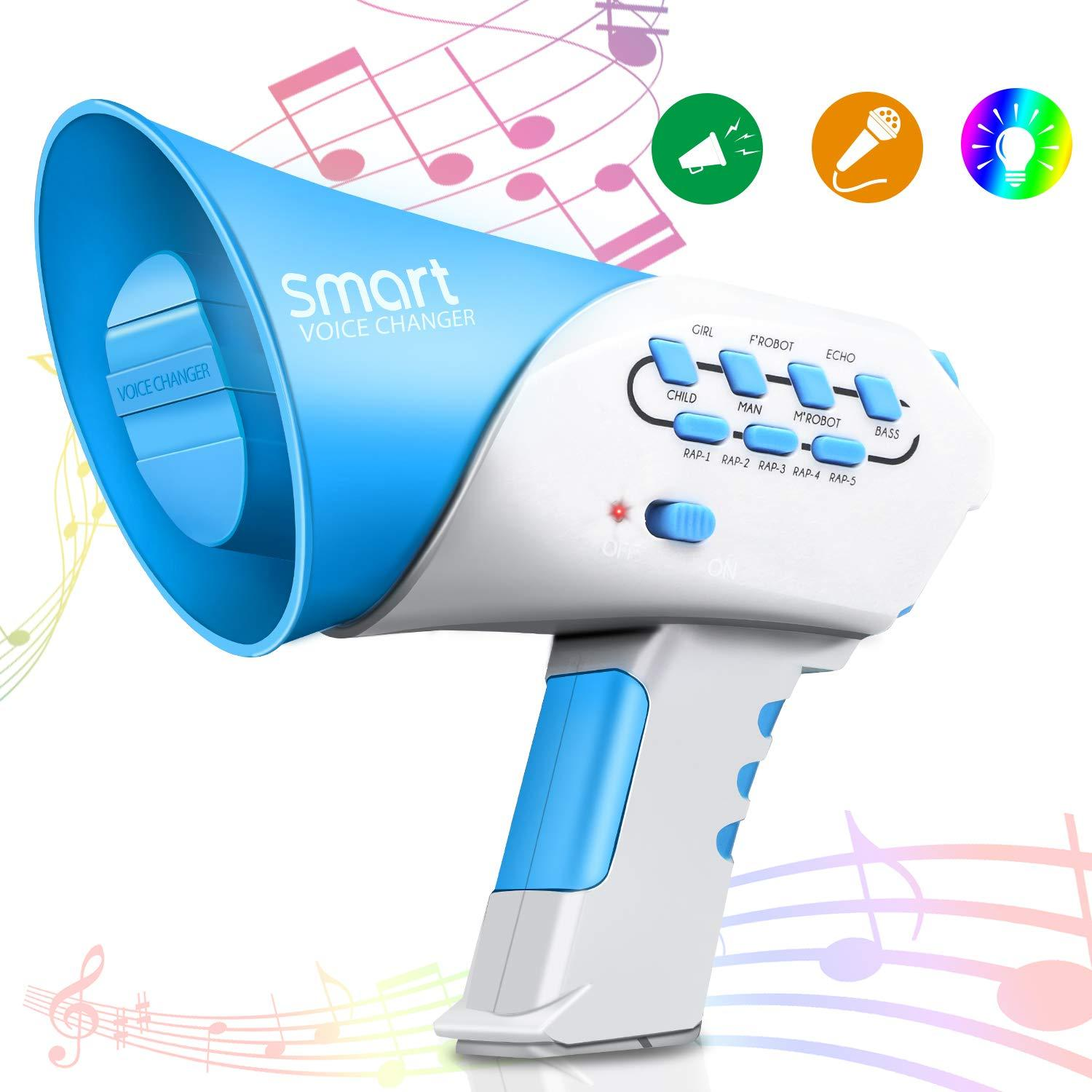 Kids Multi smart Voice Changer with 7 Different Voice Modifiers for Boys  and Girls Parties Christmas Events