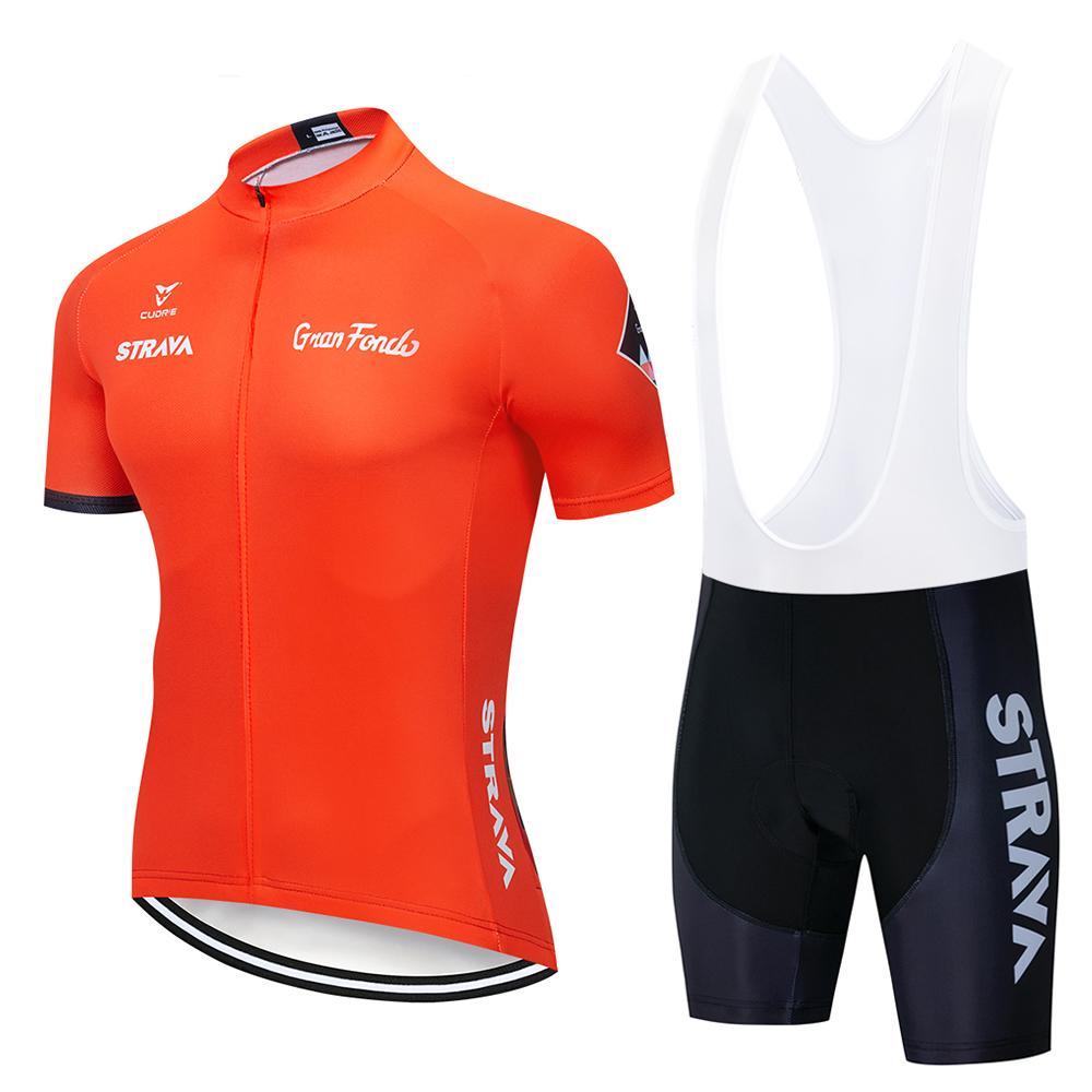 2018 STRAVA Cycling Clothing   Bike Cycling Wear Ropa Ciclismo MTB ... 6ba002c9a