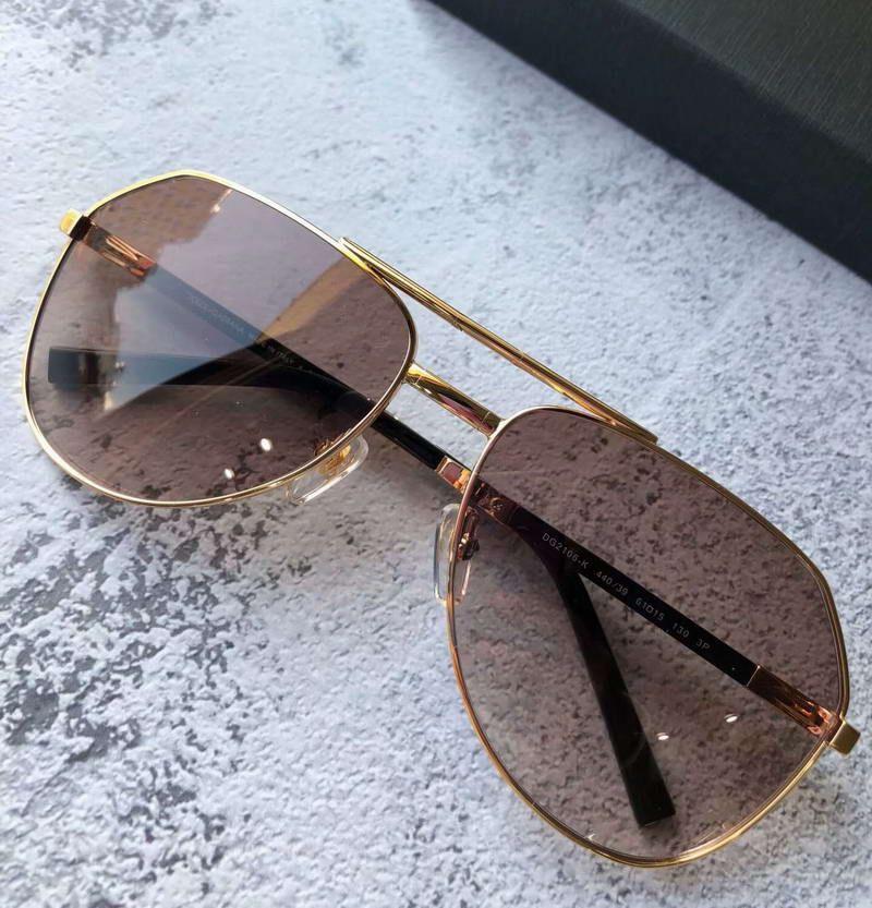 e408a7e4a0 Compre 2106 Gafas De Sol De Piloto Plegable Doradas / Marrones, Gafas De  Sol Sombreadas Uv 400 Gafas De Protección Para Exteriores Calidad Superior  Nuevo ...