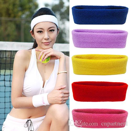 Night Reflective Strips Fashion Women Hair Band Sport Headwrap Stretch Headban Sweat Headband Bright In Colour Camping & Hiking Outdoor Tools