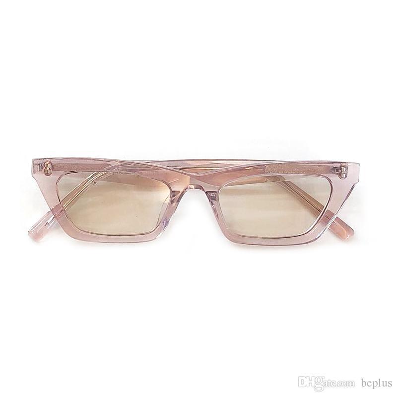f35531b6f167b Small Style Cat Eye Sunglasses Women 2019 Designer Luxury Acetate Frame  UV400 Sun Glasses Female Lady Shades Chapssal Eyewear Designer Sunglasses  From ...