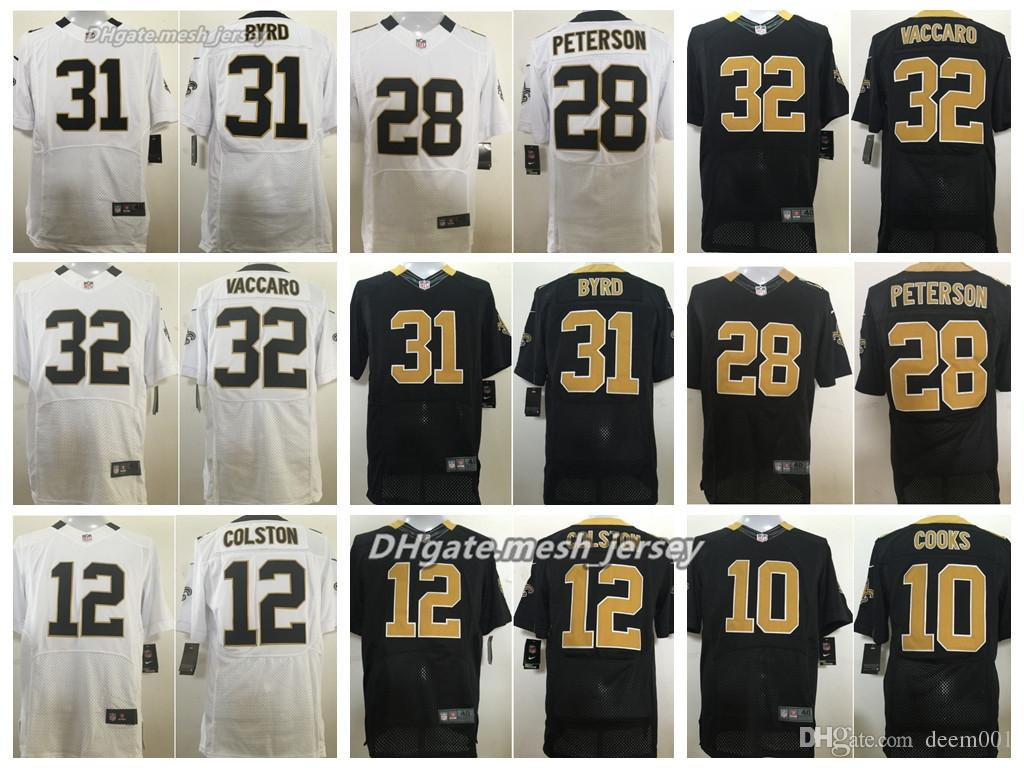 premium selection ef5e6 0ab31 Men New Orleans Saints Jersey 9 Drew Brees 28 Mark Ingram 32 Jonathan  Williams 10 Brandin Cooks Stitching Elite Jerseys