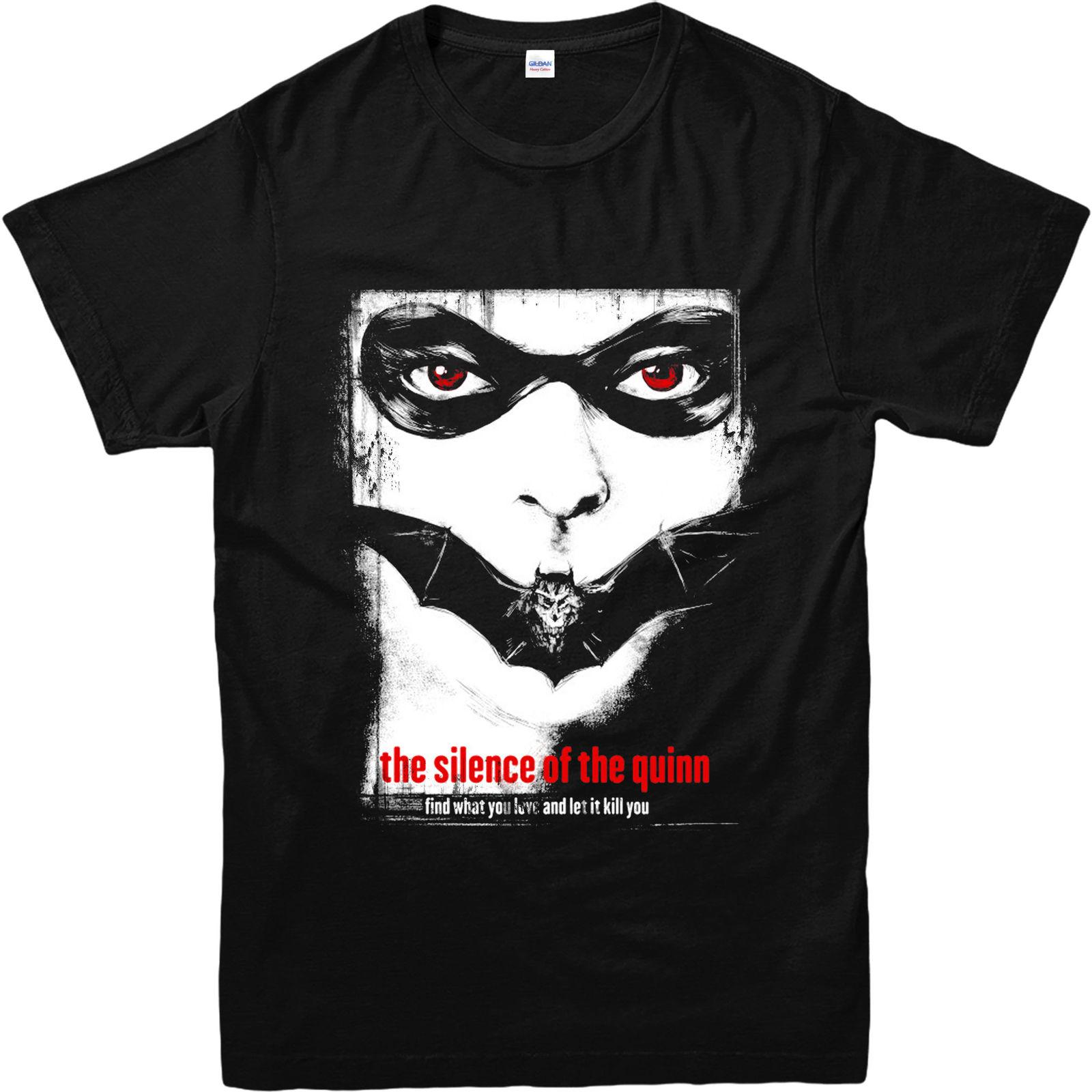 4913bace Harley Quinn T Shirt, Silence Of The Lambs Spoof T Shirt Inspired Design  Top Men Women Unisex Fashion Tshirt Fun Tshirts Party T Shirts From ...
