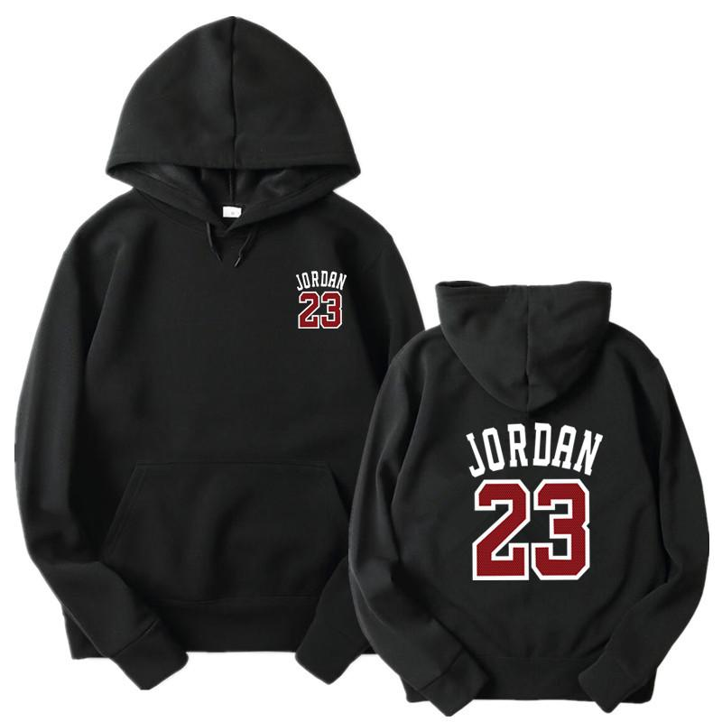 6c691a1548f 2018 2017 New Women/Men'S Casual Players 23 Front And Back Printingprint  Hedging Hooded Fleece Sweatshirt Hoodies Pullover From Geraldi, $21.83 |  DHgate.Com