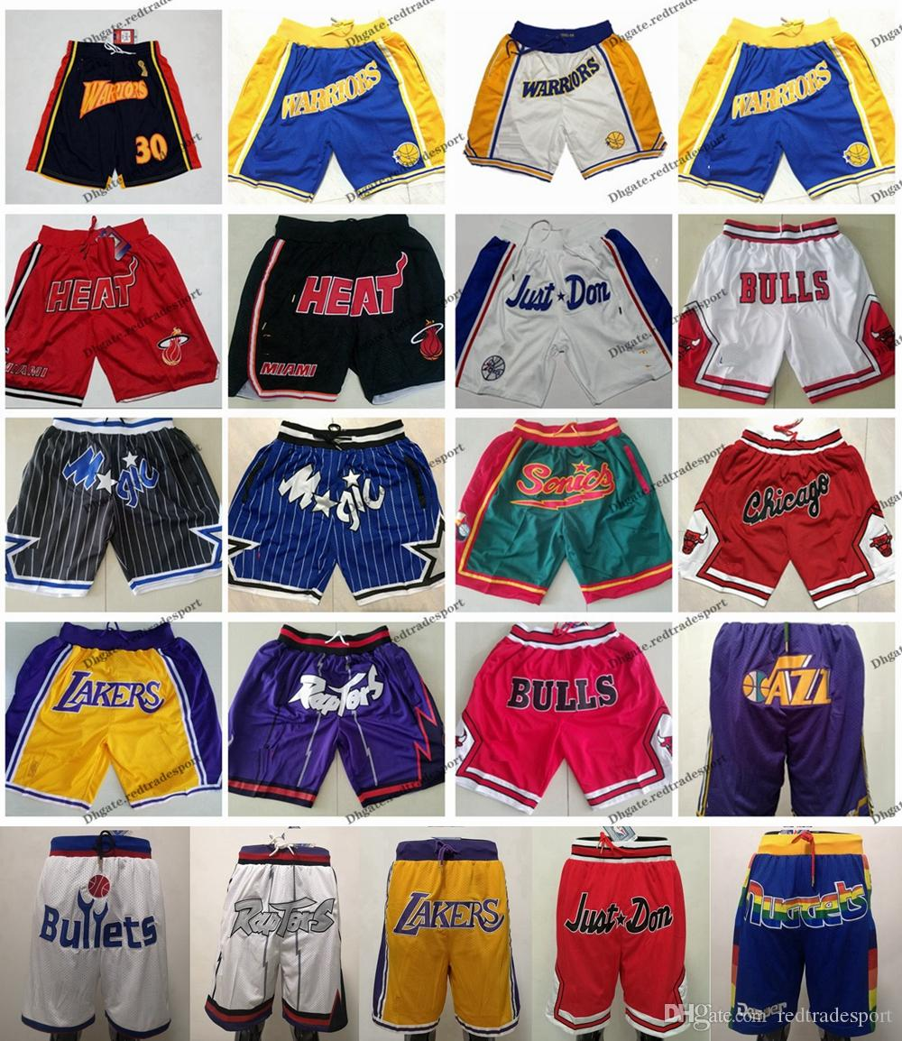 2b812d6ae Just Don Shorts Lakerses Raptors Chicago Heat Bulls Warriors Jazzs Magics  Miami Orlando Philadelphia Utah 76ers Washington Short Bullets Just Don  Short Just ...