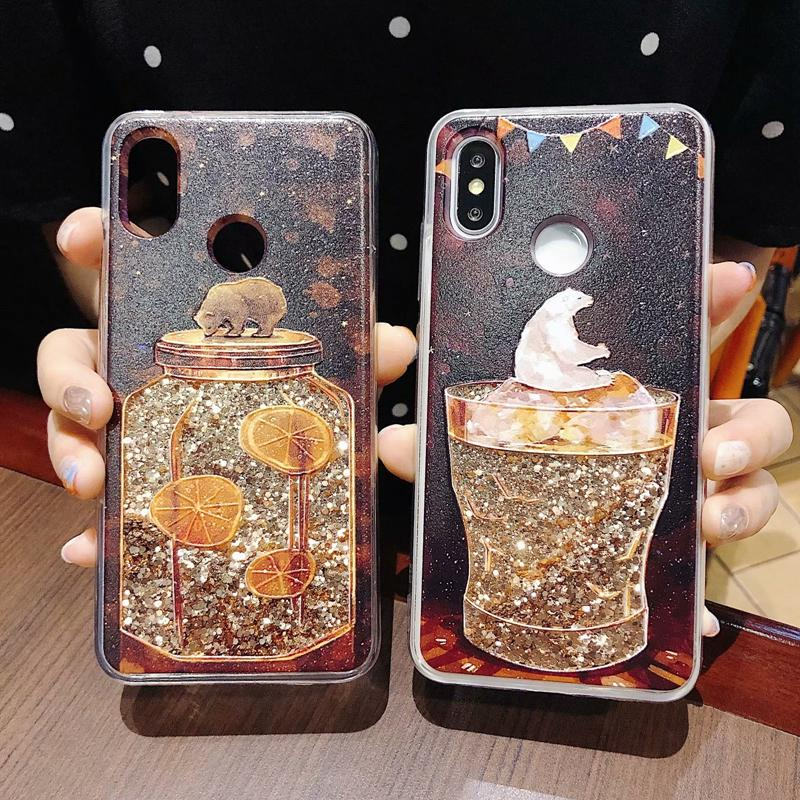watch 19fc3 14756 Luxury Quicksand Case for xiaomi redmi note 5 Global Cover redmi note 5 pro  Glitter Case Dynamic Liquid Phone Shell redmi 5 plus