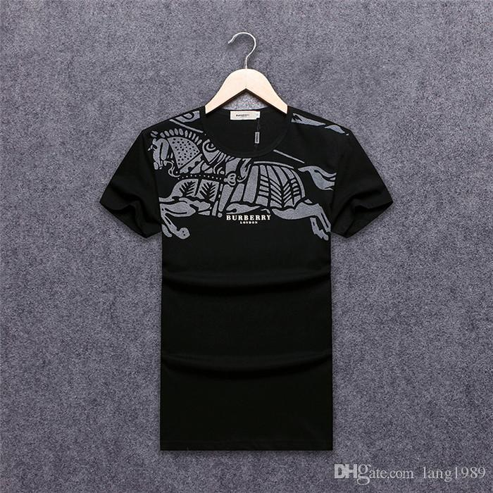 390ab3387e8 2019 Original German Brand Men S Short Sleeve T Shirt Fashion Crime  Designer Skull Hip Hop High Quality Print Medusa Qp T Shirt BB5001 Design 1  T Shirt Good ...