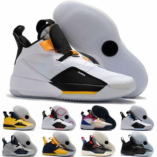 100% authentic e08f4 77a98 Compre Nueva Llegada Jumpman Air Jordan Retro XXXIII 33 Zapatos De  Baloncesto Para Hombre Para Alta Calidad Barato 33 S Multicolors Tech Pack  Guo Ailun ...